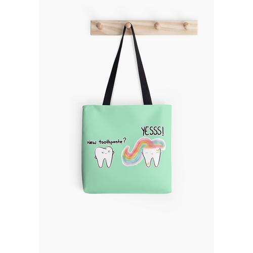 Einhorn Zahnpasta 2 Tasche