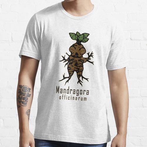 Mandrake-Pflanze Essential T-Shirt
