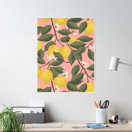 Zitronenbaum Poster