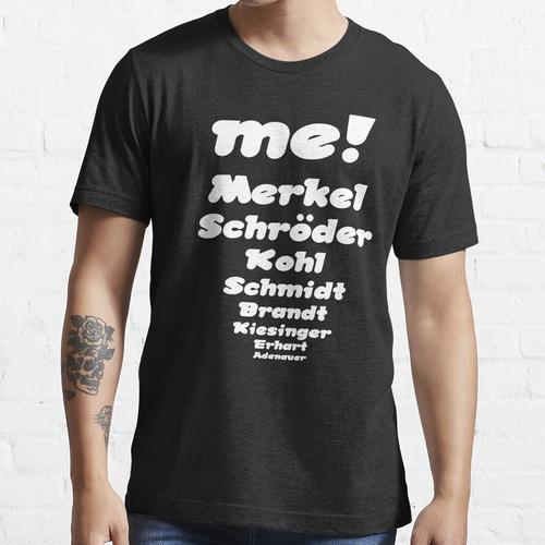 Bundeskanzler me, Merkel, Schröder Essential T-Shirt