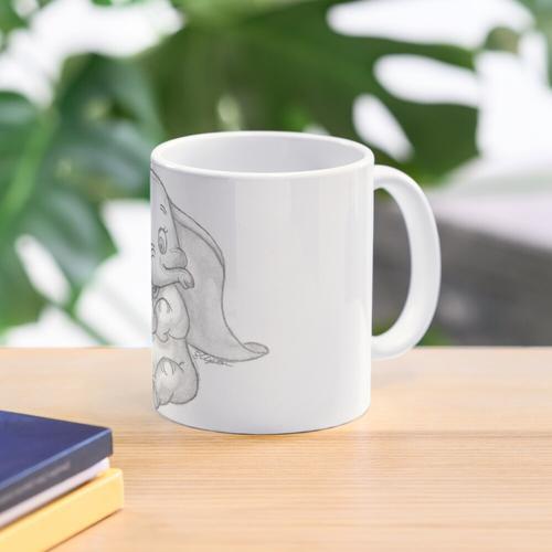 Dumbo der entzückende Elefant Tasse