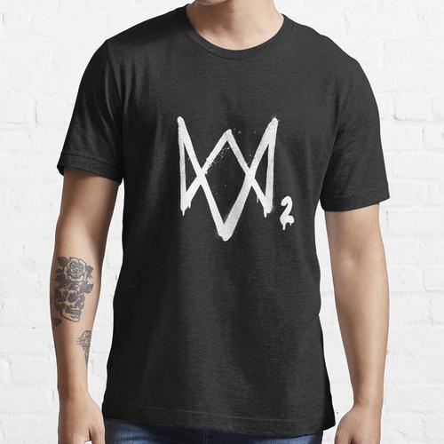 WatchDogs 2-Logo Essential T-Shirt