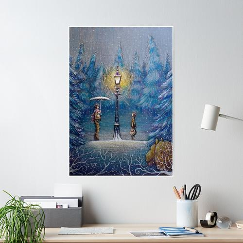 Narnia magische Laterne Poster
