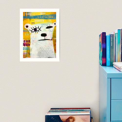 Picasso-Bär Kunstdruck