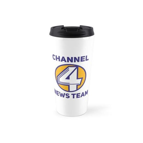 Anchorman - Channel 4 News Team Thermosbecher