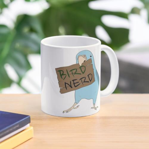 Vogel-Nerd Tasse
