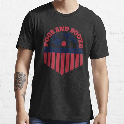 USA Foos und Schnaps lustiger Trinkwitz Essential T-Shirt