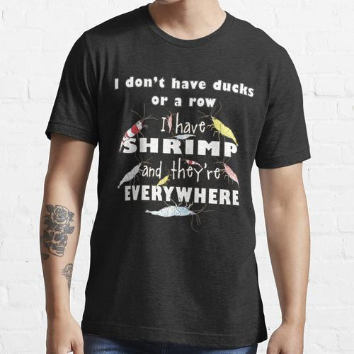 Aquarium Shrimp Keeper Dilemma Essential T-Shirt