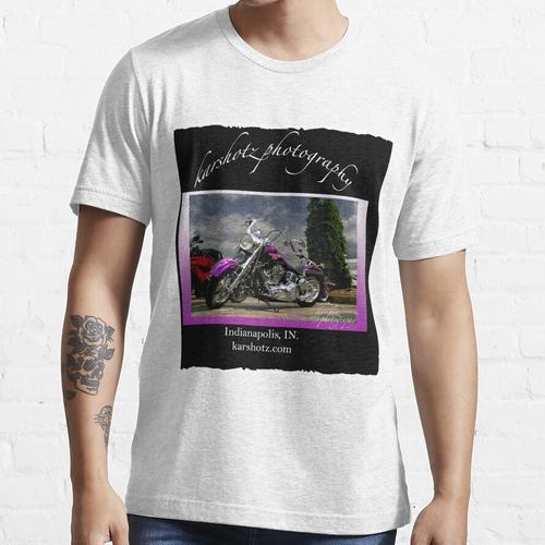 Harley Davidson Lila Fahrrad Essential T-Shirt