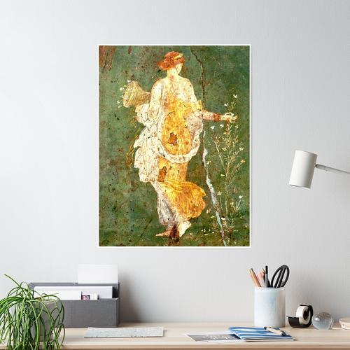 Primavera di Stabiae (Flora oder Primavera) Poster