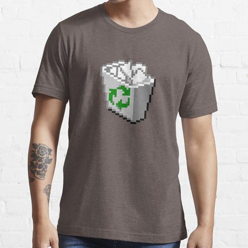 Windows 95/98 Papierkorb / Papierkorb Essential T-Shirt