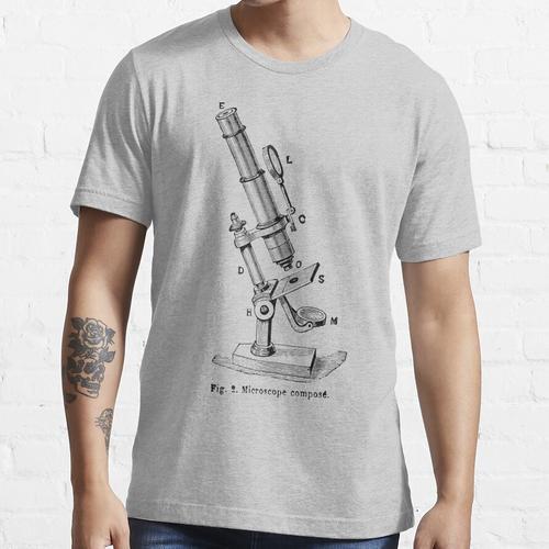 Zusammengesetztes Mikroskop Essential T-Shirt