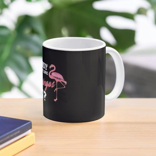 Ich mag einfach Flamingo Ok, Rosa Flamingo Geschenk, Flamingo Party Tasse