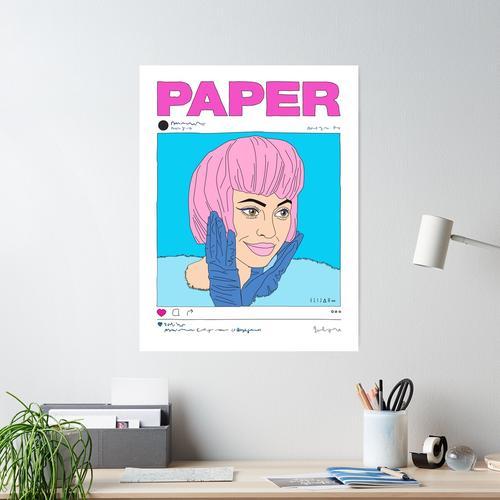KYLIE JENNER X PAPIER MAGAZIN Poster