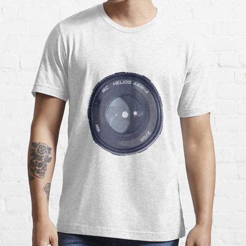 Helios Objektiv 44-4M 2/58 Bokeh Monster Essential T-Shirt