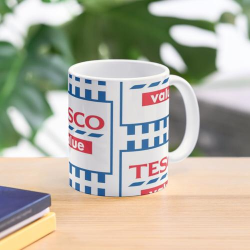 Tesco-Wert Tasse