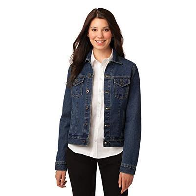 Port Authority Women's Port Authority Ladies Denim Jacket. L7620 M Denim Blue