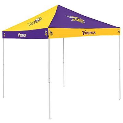 Logo Brands NFL Minnesota Vikings Checkerboard Tent Checkerboard Tent, Purple, One Size