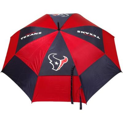 """Team Golf NFL Houston Texans 62"""" Golf Umbrella with Protective Sheath, Double Canopy Wind Protection"""