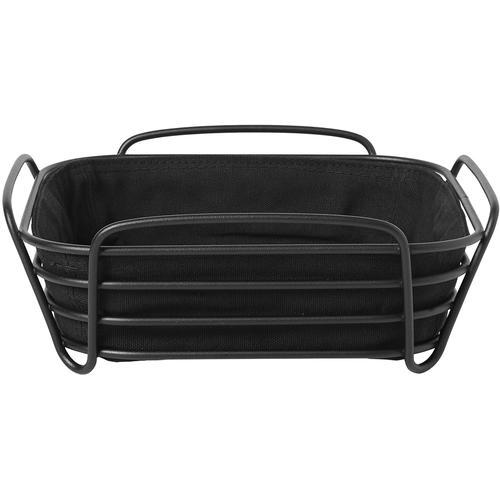 BLOMUS Brotkorb DELARA, (1 tlg.), 25x25 cm schwarz Aufbewahrung Küchenhelfer Haushaltswaren