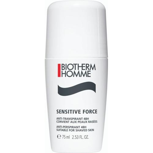 Biotherm Homme Sensitive Force 48h Anti-Transpirant Roll-On 75 ml Deodorant Roll-On