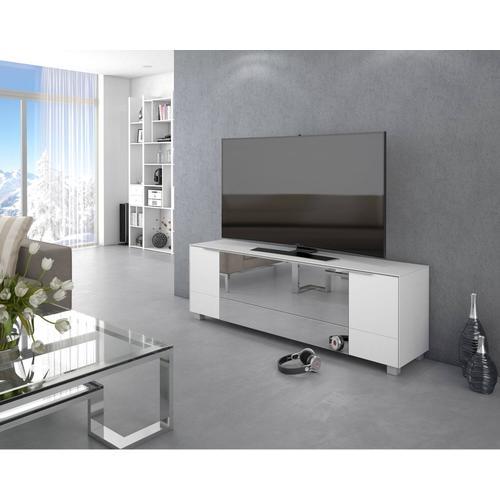 Maja Möbel Lowboard »7772« Glas sand matt/ Infrarotspiegel grau