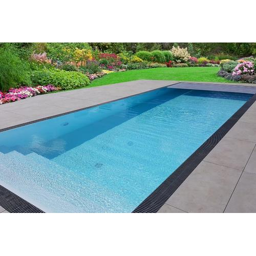 Pool-Komplettset Premium ONE® mit Überlauf 3,20 x 7,00m und optional elektrischem Rolladen / automatischer Pool-Abdeckung