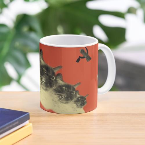 Kommunistische Katze! Tasse