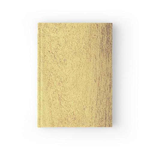 Antike Goldmetallische Folie Notizbuch