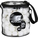 Sunflex Tischtennisball weiß Tis...