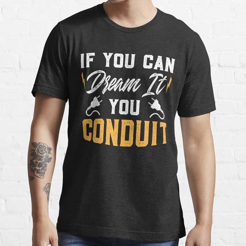 ELEKTRIKER: Ich bin ein Elektriker Ich bin nie falsch Essential T-Shirt
