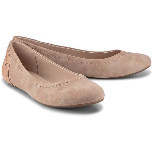 Esprit, Aloa Ballerina in rosa, Ballerinas für Damen Gr. 39