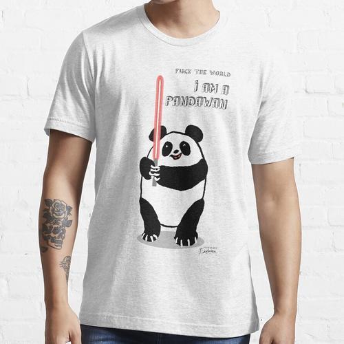 Fck die Welt, ich bin ein Pandawan Essential T-Shirt