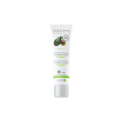 Logona Gesichtspflege Tagespflege Bio-Avocado Zellerneuernde 24h Vitamincreme 30 ml