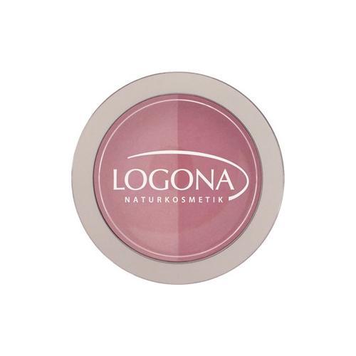 Logona Make-up Teint Rouge Duo Blush Nr. 02 Peach & Apricot 10 g