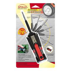Apollo Tools Tool Sets Black/Red - Black & Red 54-Piece Household Tool Set