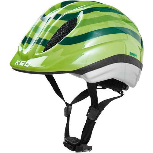 JAKO-O KED Fahrradhelm Streifen, grün, Gr. 52/58
