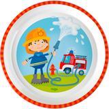 HABA Teller Feuerwehr, bunt