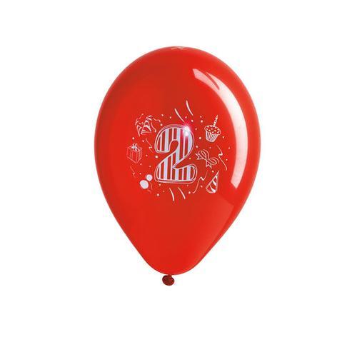 JAKO-O Geburtstagsballons Zahlen, gelb