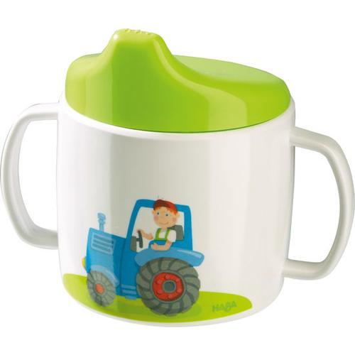HABA Trinklerntasse Traktor, bunt