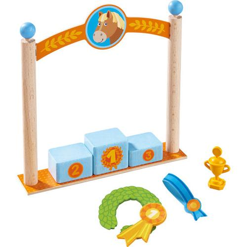 HABA Little Friends – Spielset Siegerpodest, bunt