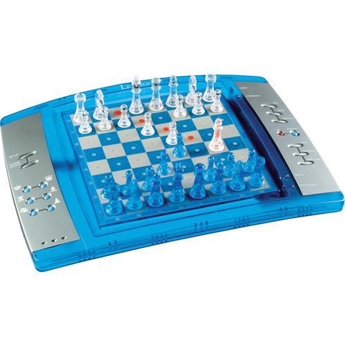 Schachspiel elektronisch, silber