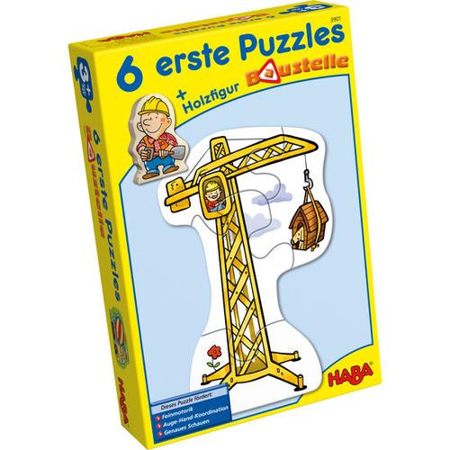 HABA 6 erste Puzzles - Baustelle