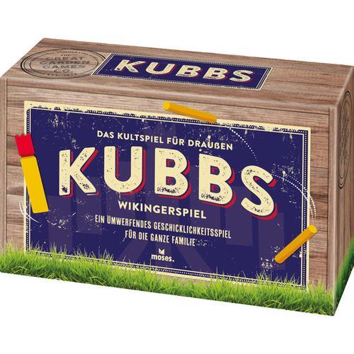 KUBBS – Wikingerspiel, bunt