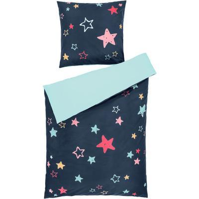 JAKO-O Bettwäsche Sterne, blau