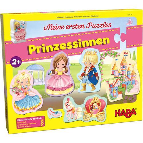 HABA Meine ersten Puzzles – Prinzessinnen, bunt