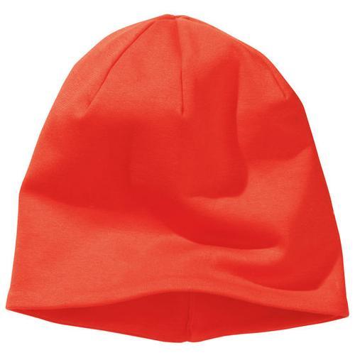 Beanie-Mütze, orange, Gr. 46
