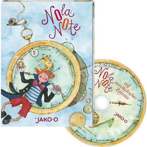 JAKO-O CD Nola Note auf musikalischer Zeitreise, bunt
