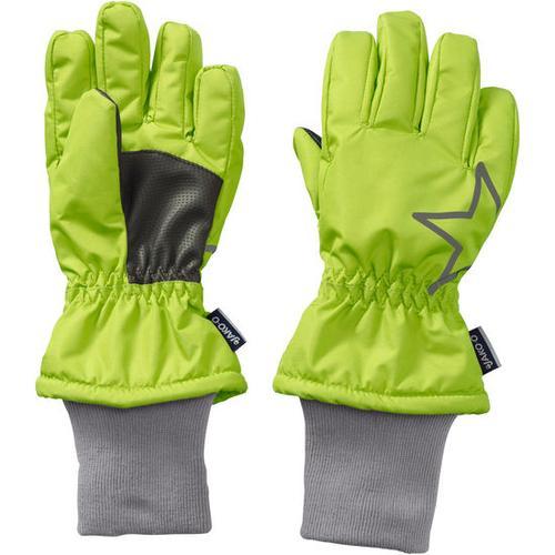 Fingerhandschuh Stern, grün, Gr. 6