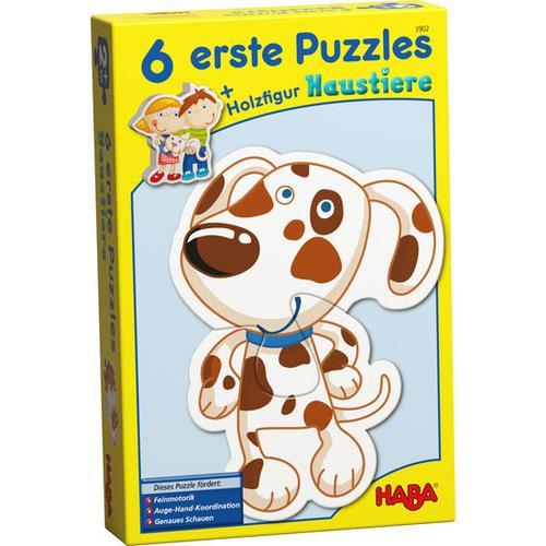 HABA 6 erste Puzzles - Haustiere